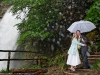 the romance of a rainy wedding in Switzerland