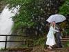 the romance of a rainy wedding in Switzerland