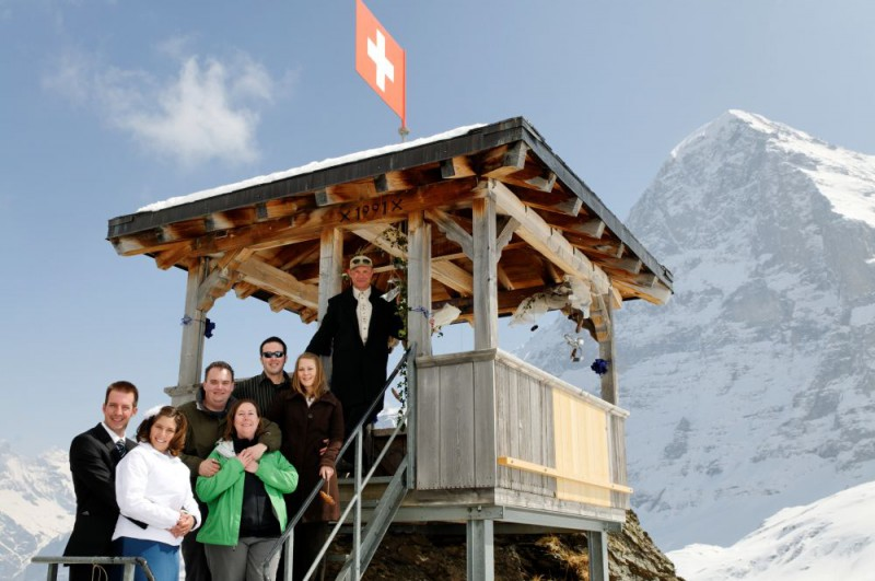 """say """" I Do"""" in the Swiss Alps"""