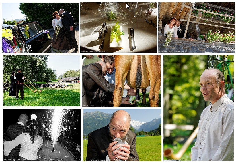 green weddings Switzerland