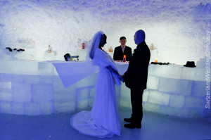 Ice Caves Wedding Marriage