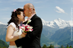 Interlaken Wedding couples