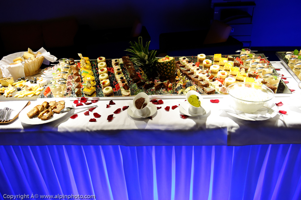 Marriage in Switzerland, Wedding reception
