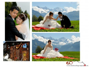 Jungfraujoch wedding