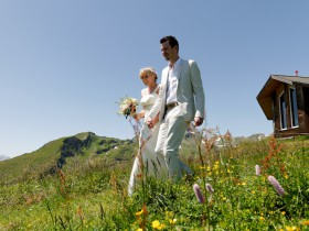 Jungfrau wedding in the Bernese Oberland