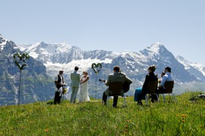 Best of Wedding photos in the Swiss Alps
