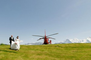 Bride and groom with the best photos in Switzerland