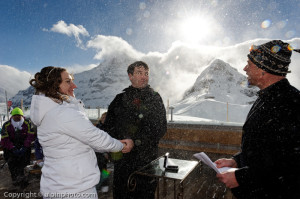 Winter Wedding Grindelwald  0118