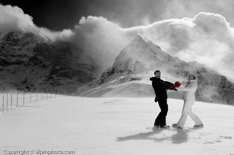 Winter Wedding Grindelwald  0213
