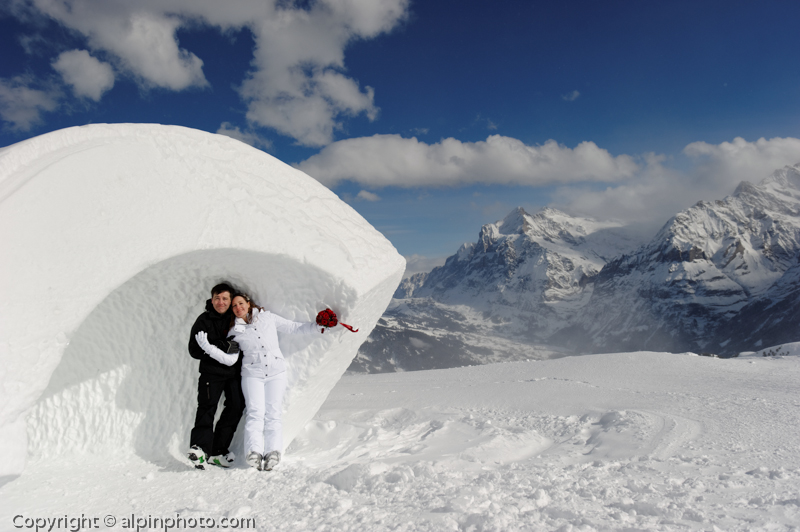 Winter Wedding Grindelwald  0253