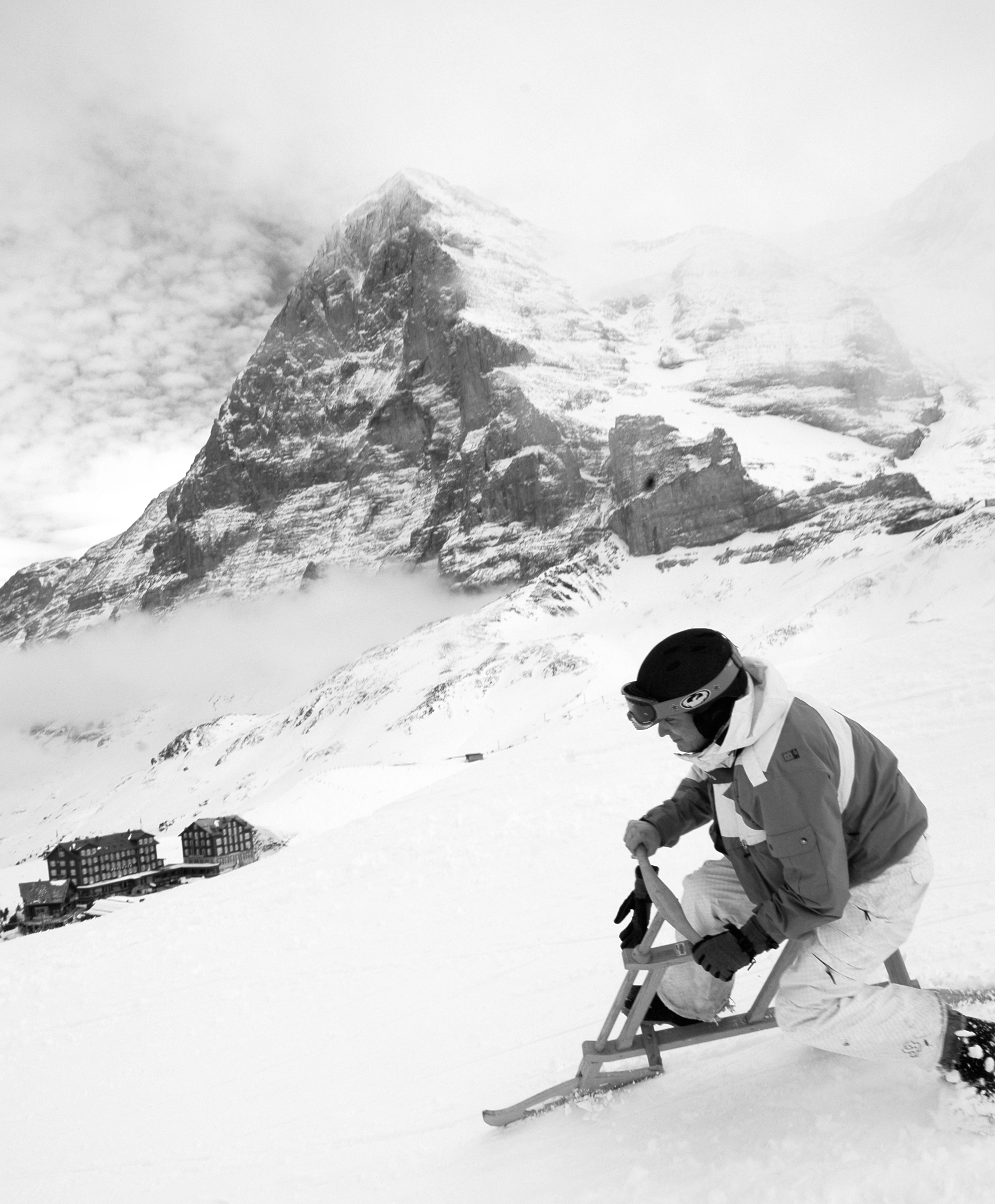 We arrange Snow olympics for your wedding in the Swiss Alps