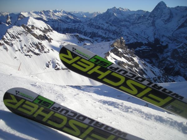 ski the schilthorn for your wedding