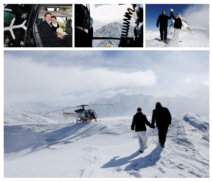 ski and snow weddings Switzerland