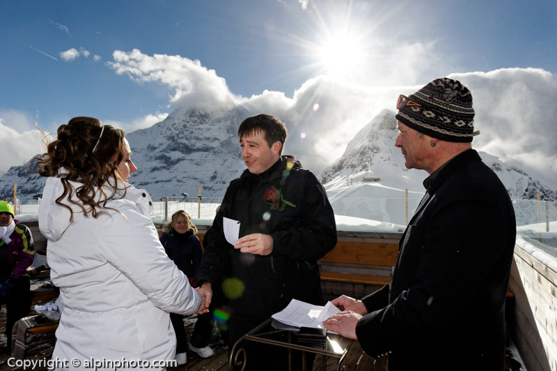 Ski and Winter Wedding