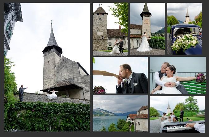 Hochzeits zeremonie Spiez