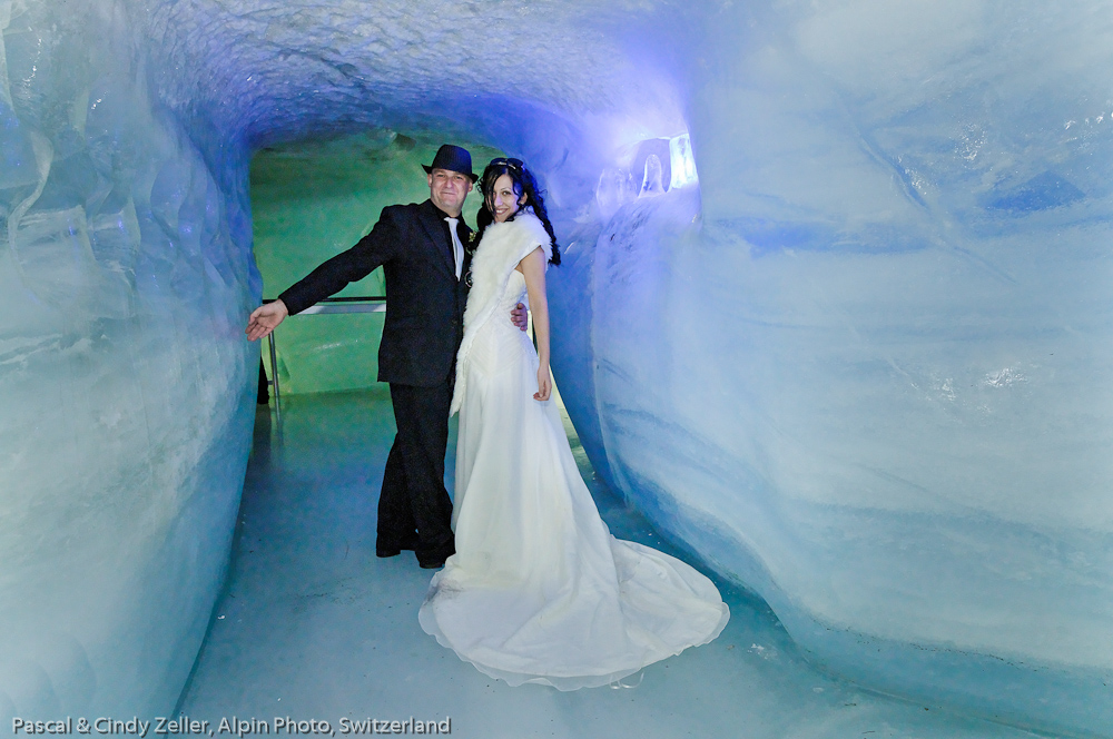 Marry in the Ice Caves of Switzerland
