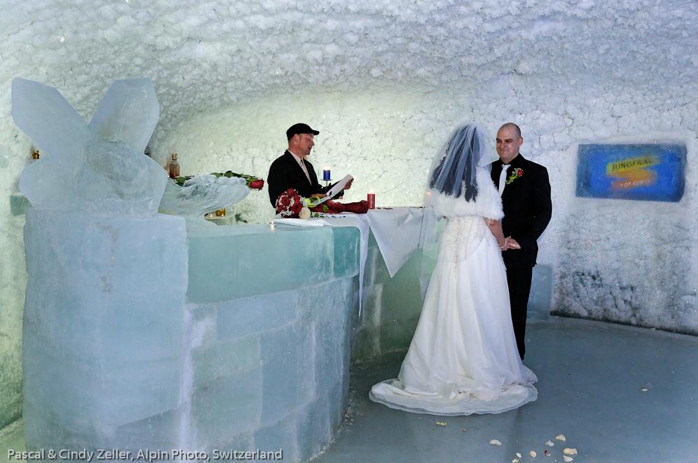 Jungfraujoch ICE CAVE WEDDING