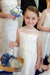 brides girls flower girl
