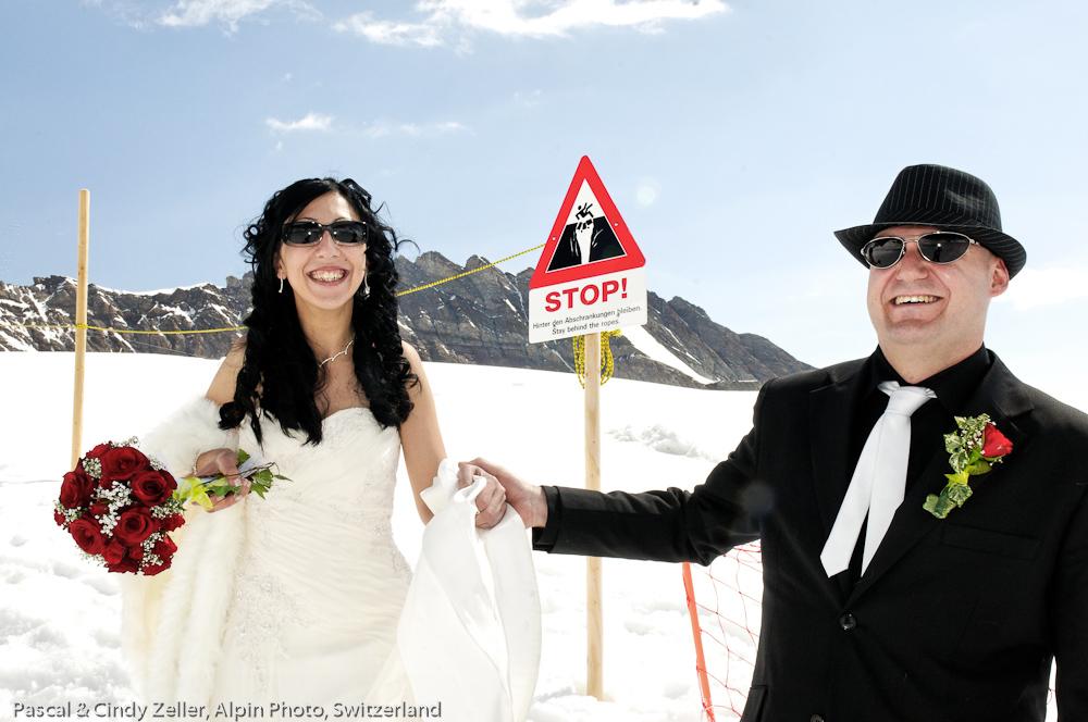 Snow Wedding