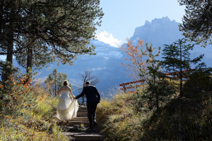 wedding in the Swiss Alps