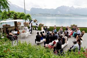 English speaking Wedding Officiant Switzerland