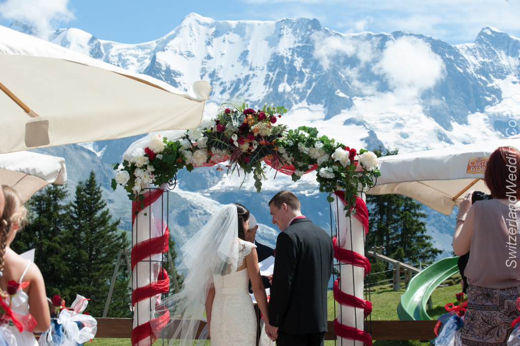 Swiss Alps Mountain Ceremony