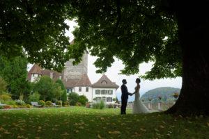 wedding marry castle spiez