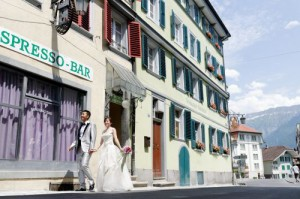 Asia couples marry internationally in Switzerland