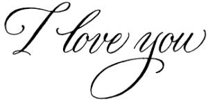I love you, I love you,