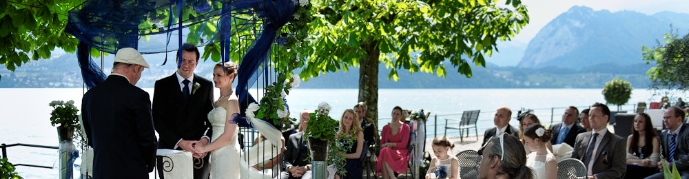 Civil Marriage & Lakeside Symbolic blessing with Professional photography