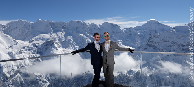 Ken & Joe, Our Schilthorn Wedding & Testimony