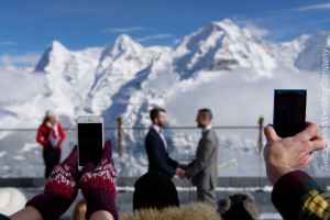schilthorn wedding Switzerland