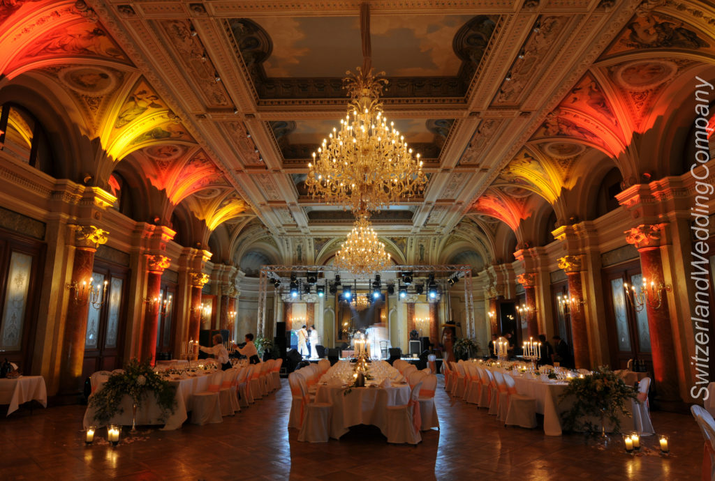 Wedding reception Victoria Jungfrau Grand hotel