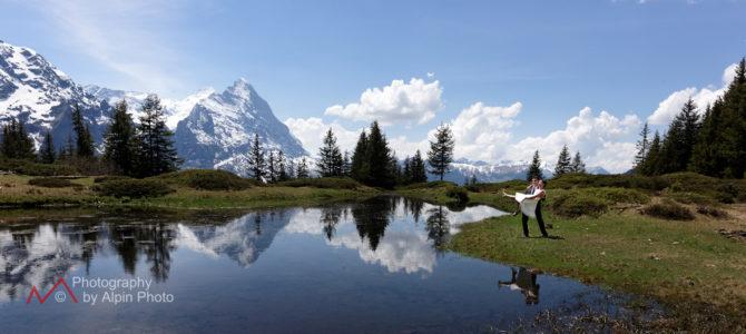 Switzerland Alps Pre Wedding Photography