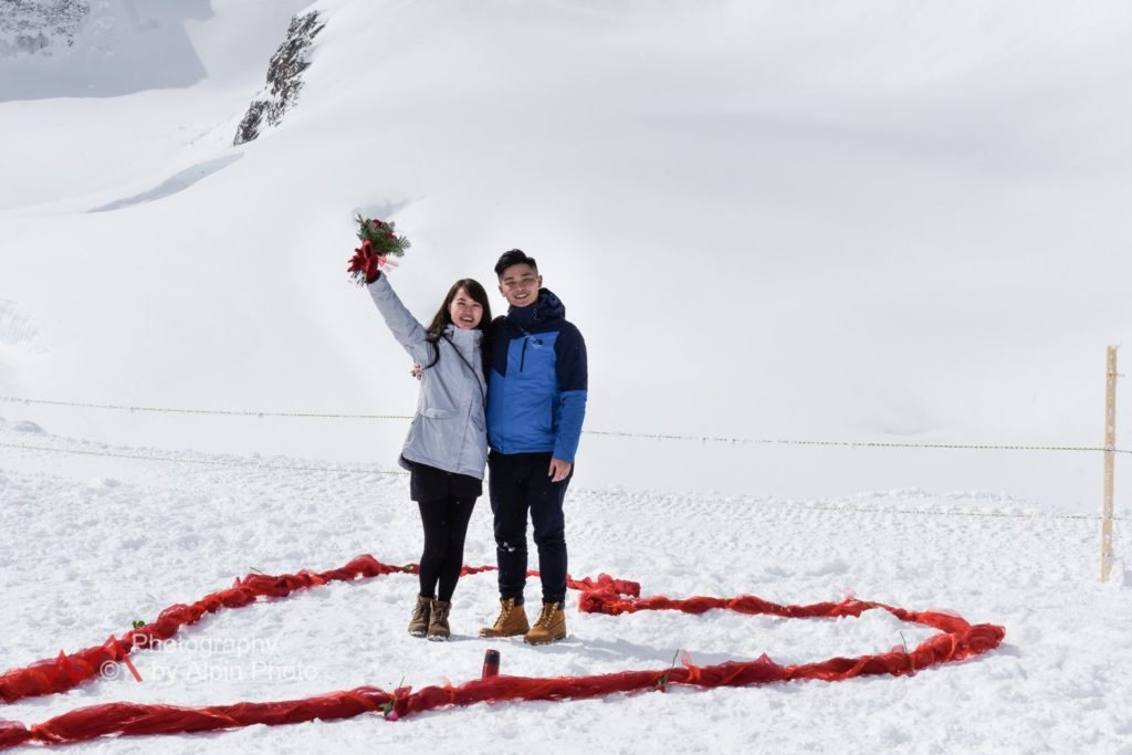 jungfraujoch marriage proposal