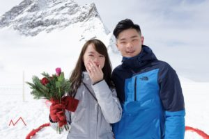 Photographer for wedding proposal