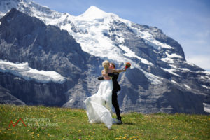 We set up your elopement in switzerland