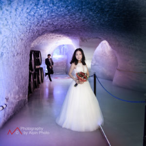 china ice cave wedding