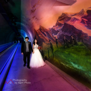 wedding package jungfraujoch