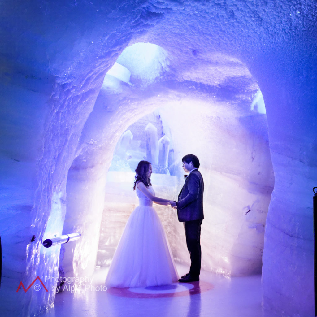 ice cave wedding