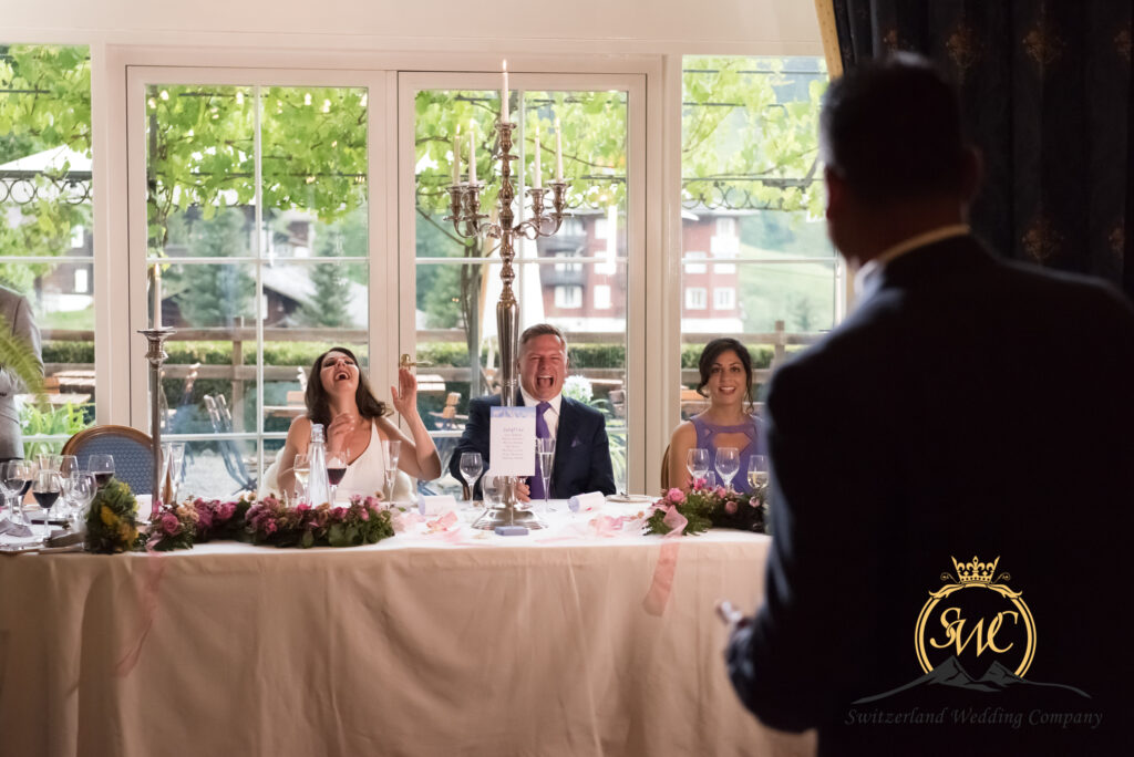 professional photography for your gala wedding in Switzerland
