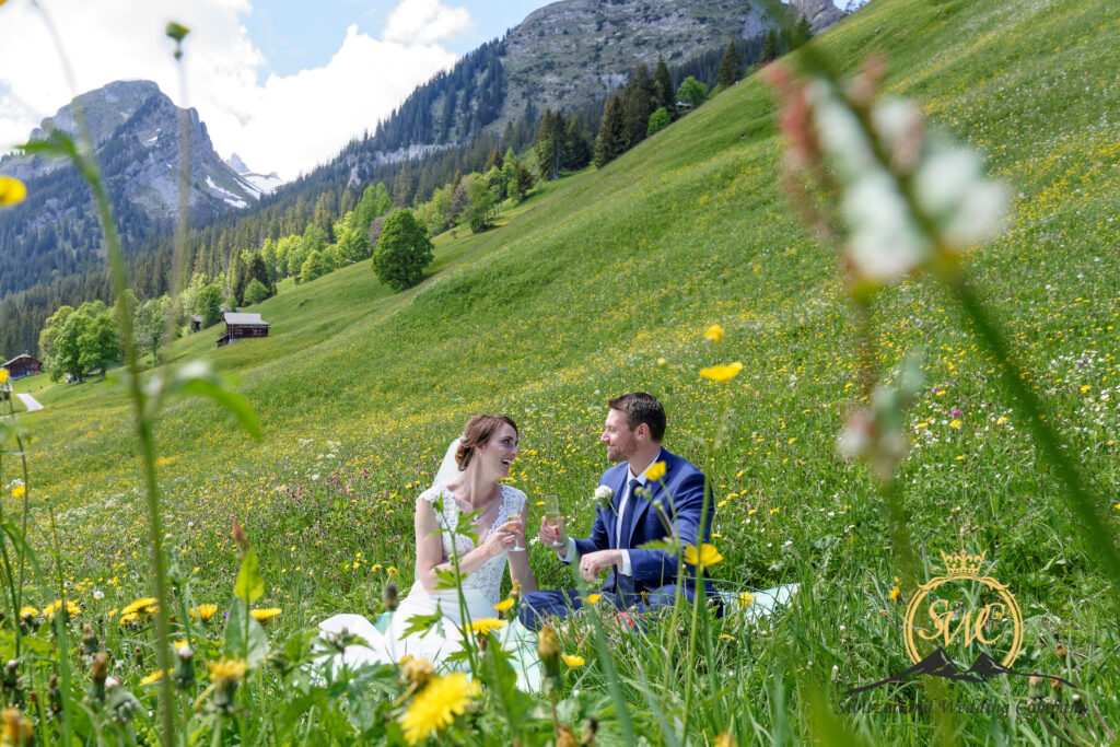 nature pic nic elopement