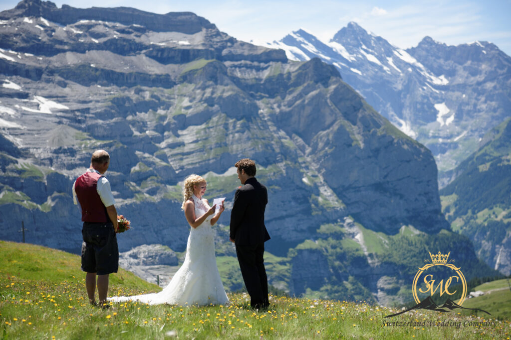 Photographer Elopement Grindelwald