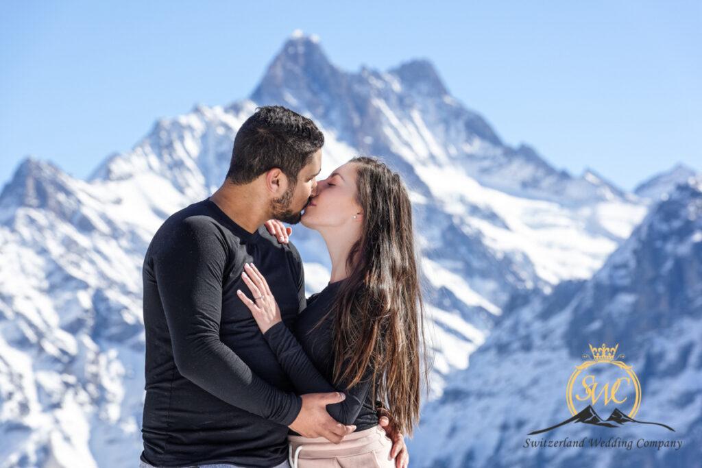 Grindelwald, wedding engagement photographer