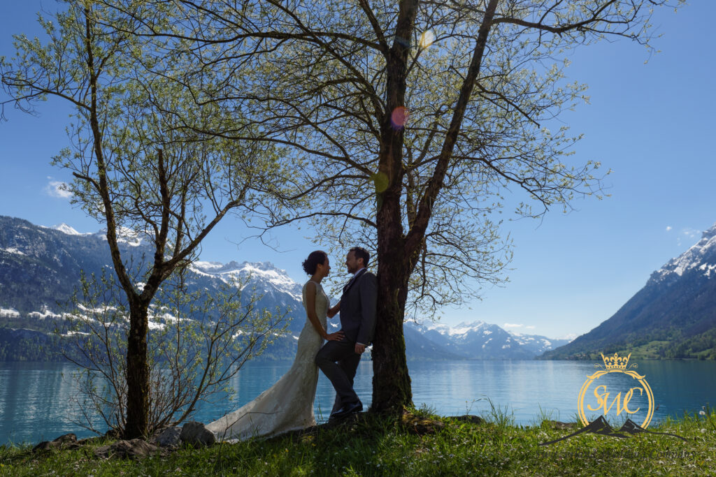 Switzerland Elopement Lakeside