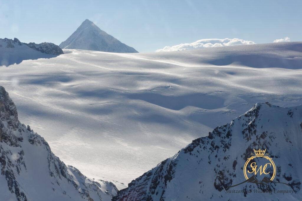 Elope on the Glacier Switzerland
