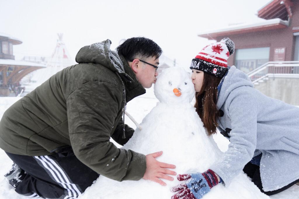 winter wedding proposals