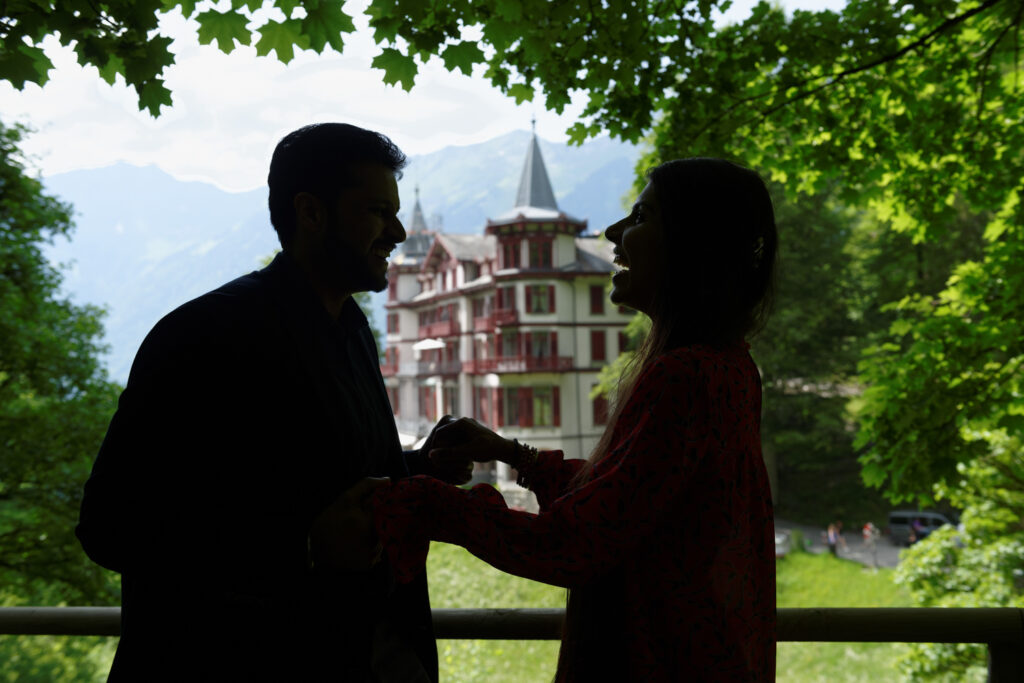 Indian Wedding Elopement Switzerland