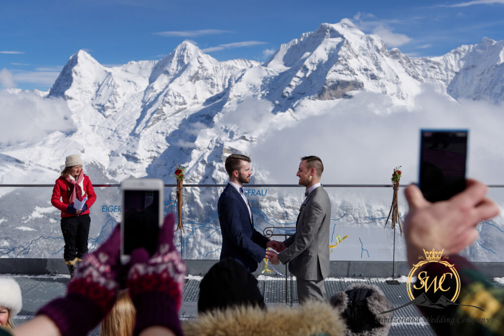 Winter Wedding Switzerland