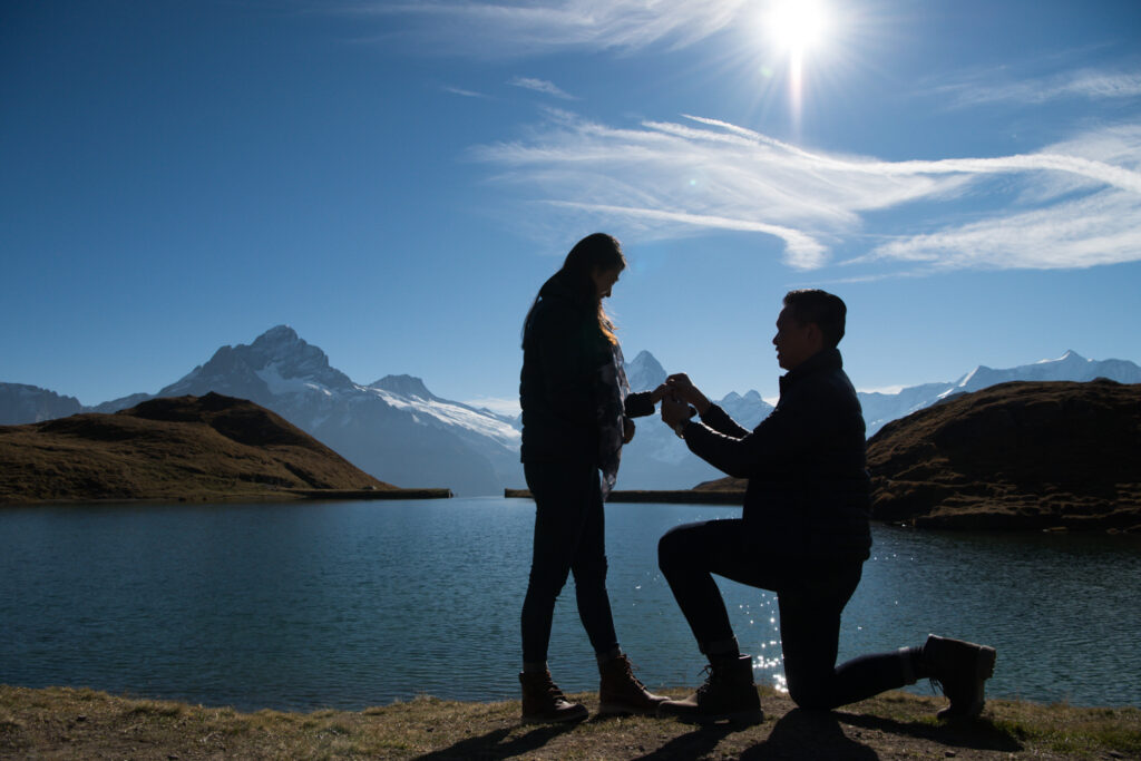 Wedding proposal Switzerland
